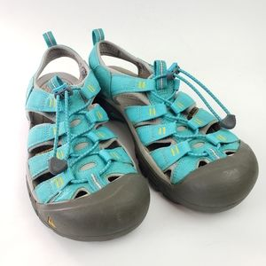 Keen Newport H2 Ceramic Blue Yellow Water Shoe